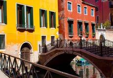 Venezia colorata Fotografia Stock Libera da Diritti
