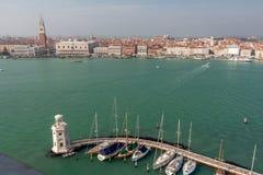 Venezia da San Giorgio Maggiore Immagini Stock Libere da Diritti