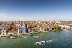 Venezia dalla nave da crociera Immagine Stock Libera da Diritti