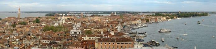 Venezia dalla torretta del San Merco immagine stock libera da diritti