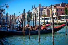 Venezia de las góndolas Foto de archivo libre de regalías