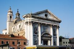 Venezia, dei Gesuati di Chiesa. Immagine Stock