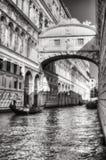 Venezia, dei Sospiri Ponte Стоковое Изображение