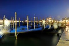 Venezia in der Nacht Stockbilder