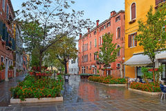 Venezia dopo la pioggia Immagini Stock