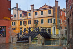 Venezia dopo la pioggia Fotografia Stock Libera da Diritti
