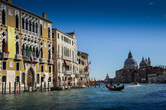 Venezia. Early morning shot taken from Ponte della Academia, Venezia Royalty Free Stock Photography