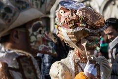 Venezia en tiempo del carnaval Fotografía de archivo libre de regalías