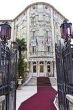 venezia för slott för ausoniahotelllido Arkivbilder