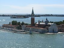 Venezia in the full beauty. Amazing view on architecture of Venezia on one of the island royalty free stock images