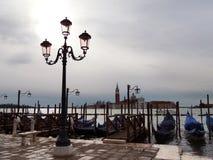 Venezia fuori dalla stagione Fotografia Stock