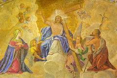 Venezia - Gesù - portale della cattedrale di St Mark immagine stock