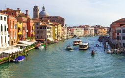 Venezia Grand Canal Stock Photos