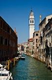 Canal grande di Venezia Immagini Stock