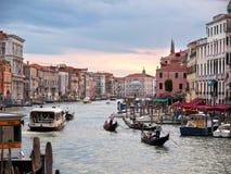 Venezia - grande canale Fotografia Stock Libera da Diritti