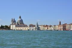 Venezia ha osservato da San Giorgio Maggiore Fotografie Stock Libere da Diritti