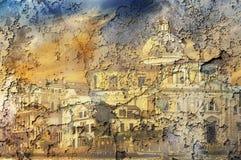 Venezia-Hintergrund Lizenzfreie Stockfotos