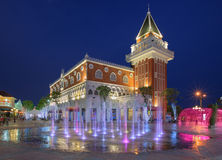 The Venezia HUAHIN. Huahin, Thailand - March 14, 2015: The Venezia new famous landmark for tourist and market place during night . The inspiration of this Stock Images
