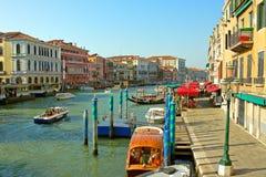 Venezia, il canal grande Fotografia Stock