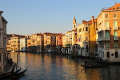 Venezia, il canale gran Fotografie Stock