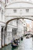 Venezia: Il dei Sospiri di Ponte Fotografia Stock Libera da Diritti