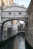 Venezia - il ponte dei sospiri fotografia stock