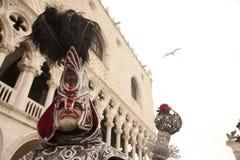 Venezia il re del carnevale fotografie stock libere da diritti