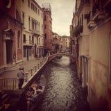 Venezia italia Foto de Stock Royalty Free