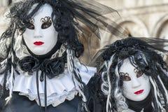 Venezia, Italia - 5 febbraio 2018 - le maschere del carnevale 2018 Fotografia Stock