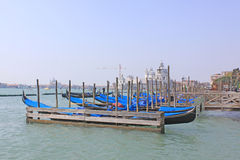 Venezia, Italia gondolas Fotografia Stock
