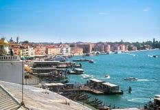 Venezia, Italia - 8 settembre 2016 Vista generale della città da immagine stock libera da diritti