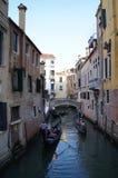 Venezia kanal royaltyfri foto