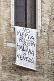 Venezia L'Italia 2014 Fotografia Stock