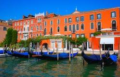 Venezia - l'Italia - i canali Fotografia Stock Libera da Diritti