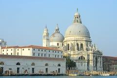Venezia, la chiesa del saluto di della della Santa Maria Fotografia Stock Libera da Diritti