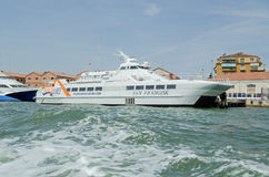 Venezia Lines catamaran ferry, Venice Royalty Free Stock Photography