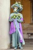 Maschera della molla a Venezia Fotografia Stock Libera da Diritti