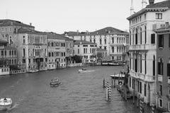 Venezia nel monocromio Fotografie Stock Libere da Diritti