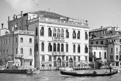 Venezia nel monocromio Immagine Stock Libera da Diritti
