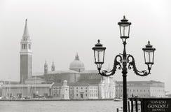 Venezia nella seppia Fotografia Stock Libera da Diritti