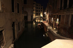 Venezia. Night streets in Venezia - Italia royalty free stock photos