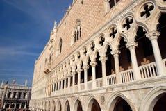 Venezia - Palazzo Ducale immagini stock