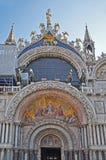 Venezia quadrata di Basilicain del contrassegno della st Fotografia Stock