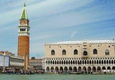 Venezia, San Marco veduto dal canale, orizzontale fotografia stock