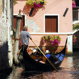 Venezia - serie della gondola immagini stock libere da diritti