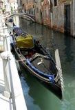 Venezia - serie della gondola fotografia stock libera da diritti