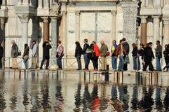 Venezia si è sommersa Immagine Stock Libera da Diritti
