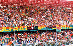 Venezia supporters Royalty Free Stock Images