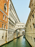 Venezia in a tourist season. Royalty Free Stock Photos