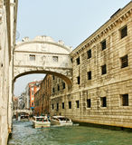 Venezia in a tourist season. Royalty Free Stock Image